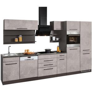 HELD MÖBEL Küchenzeile mit E-Geräten »Tulsa«, Breite 330 cm