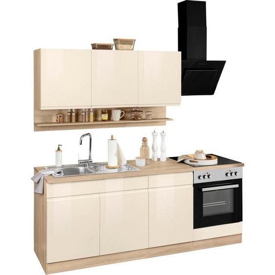 HELD MÖBEL Küchenzeile »Virginia«, ohne E-Geräte, Breite 210 cm