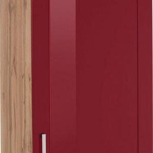 HELD MÖBEL Kühlumbauschrank »Tinnum« 60 cm breit, 200 cm hoch, Metallgriffe, MDF Fronten, für Einbau-Kühlgefrierkombination mit Nischenmaß 178 cm