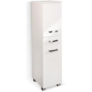 Held-Möbel Midischrank, Weiß, Kunststoff