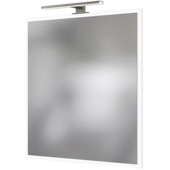HELD MÖBEL Spiegelpaneel Matera B/H/T: 60 cm x 64 2 weiß Badspiegel Badmöbel