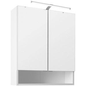 Held Möbel Spiegelschrank Breite 60 cm, mit LED-Beleuchtung