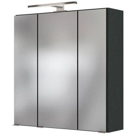 HELD MÖBEL Spiegelschrank »Baabe« Breite 60 cm, mit 3D-Effekt, dank 3 Spiegeltüren