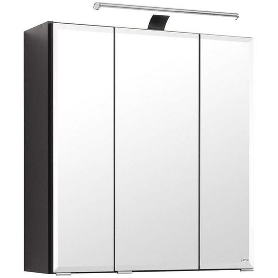 HELD MÖBEL Spiegelschrank »Fontana« Breite 60 cm, mit Soft-Close-Funktion und Steckdose