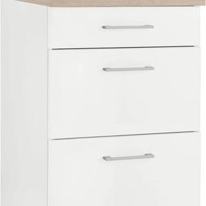 HELD MÖBEL Unterschrank Utah, Breite 50 cm B/H/T: x 85 60 weiß Küchenschränke Küchenmöbel Möbel sofort lieferbar