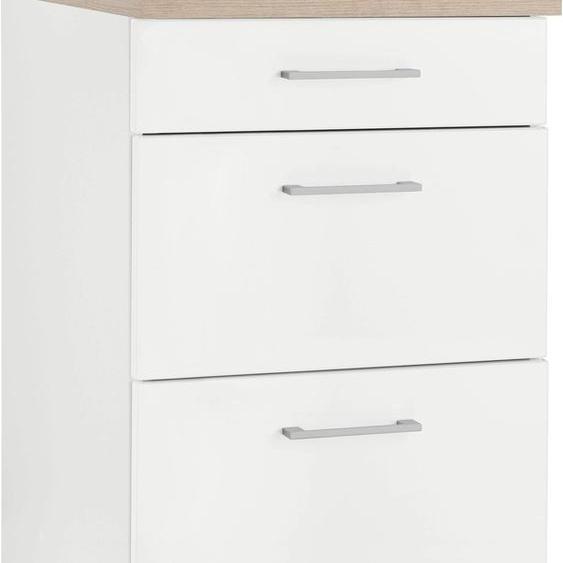 HELD MÖBEL Unterschrank Utah, Breite 50 cm B/H/T: x 85 60 weiß Unterschränke Küchenschränke Küchenmöbel
