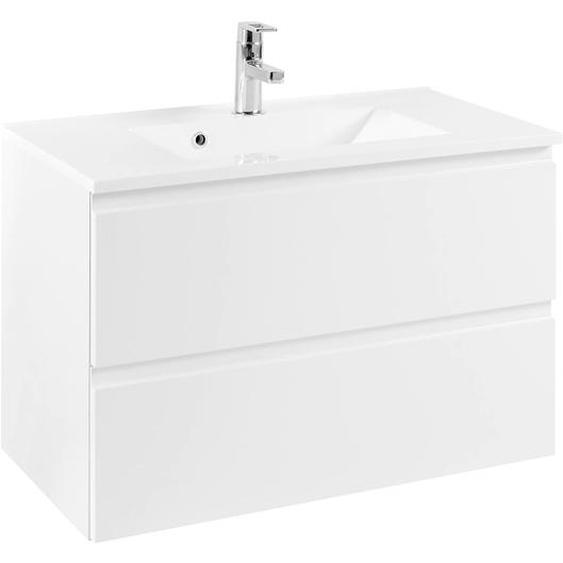 HELD MÖBEL Waschtisch Cardiff, Breite 80 cm x 5 weiß Waschtische Badmöbel