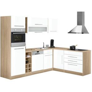 HELD MÖBEL Winkelküche mit E-Geräten »Eton«, Stellbreite 260/190 cm