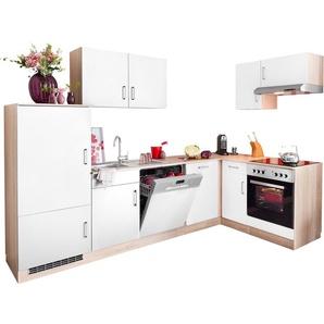HELD MÖBEL Winkelküche »Melbourne«, mit E-Geräten, Stellbreite 280 x 160 cm