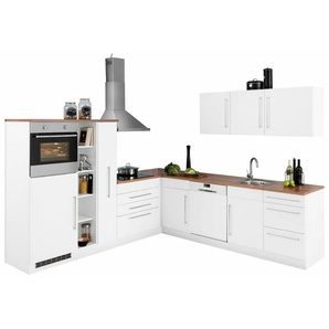 HELD MÖBEL Winkelküche »Samos«, ohne E-Geräte, Stellbreite 260 x 270 cm