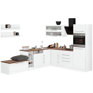 HELD MÖBEL Winkelküche ohne E-Geräte »Samos«, Breite 300/250 cm
