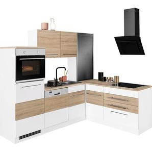 HELD MÖBEL Winkelküche »Trient«, ohne E-Geräte, Stellbreite 230/190 cm