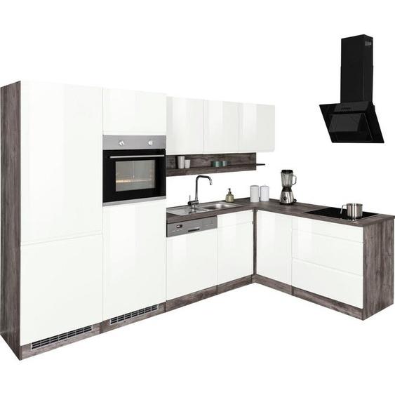 HELD MÖBEL Winkelküche »Virginia«, ohne E-Geräte, Stellbreite 290/190 cm