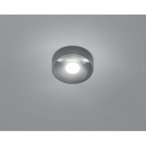 Helestra Außendeckenleuchte , Graphit , Metall , 4 cm