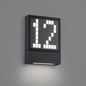 Helestra Dial LED Hausnummern- / Außenwandleuchte