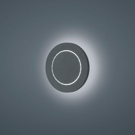 Helestra Fogo LED Außenwandleuchte, rund, Ausstellungsstück