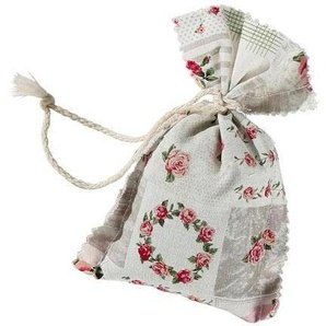 Herbalind Duftkissen »4er Set Duftbeutel Lavendel Patchwork Rosenmuster«, Bezug 100% Baumwolle, bunt