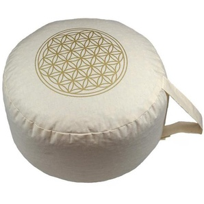 Yogakissen »Blume des Lebens«, herbalind