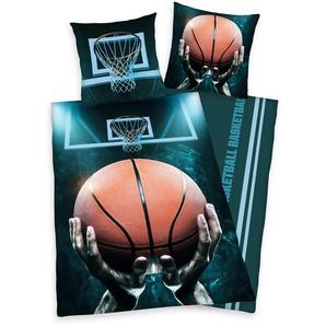 Funky Monkey Basketball »Basketball«, 80x80 cm, waschbar, bunt, aus reiner Baumwolle