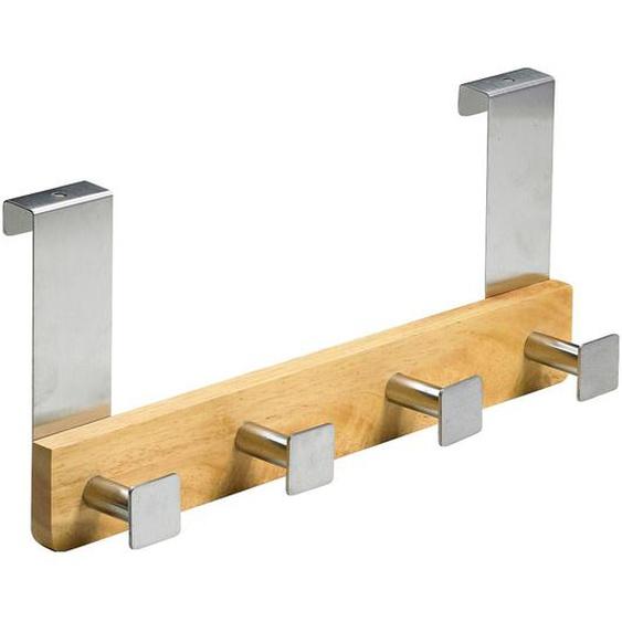 Hettich Türhängegarderobe Holz/Metall Eiche 4 Haken