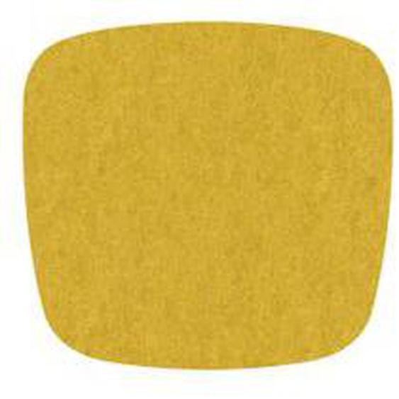 Hey Sign - Filz-Auflage Eames Plastic Armchair, curry 2 x 5 mm vernäht, ohne Antirutsch-Beschichtung