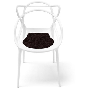 Hey-Sign - Sitzauflage Masters - 27 schoko mit Antirutsch - indoor