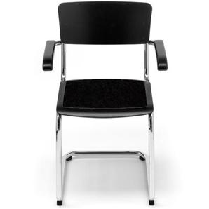 Hey-Sign - Sitzauflage S 43 - 02 schwarz mit Antirutsch - indoor