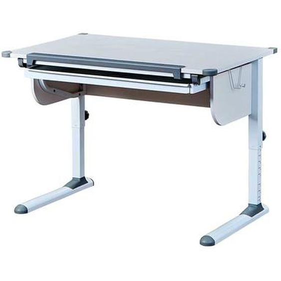 Höhenverstellbarer Schreibtisch für Schulkinder Weiß