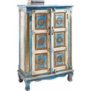 Home affaire Highboard, blau, FSC-Zertifikat, , , FSC®-zertifiziert
