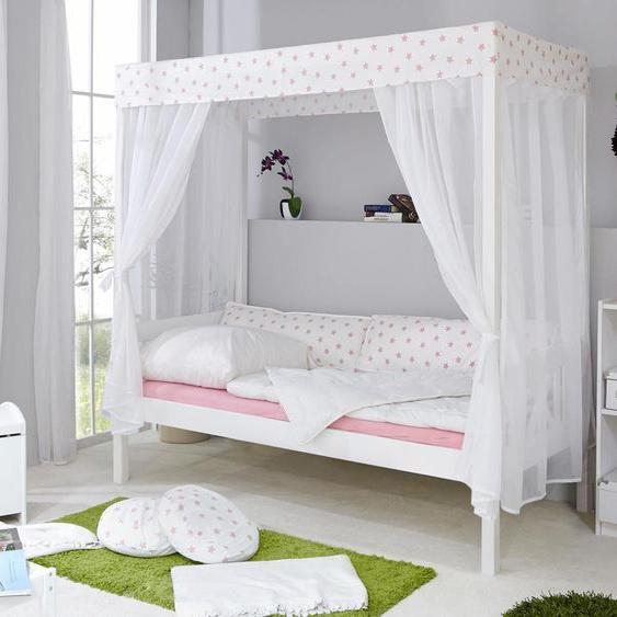 Himmel-Bett  »Lino«, FSC®-zertifiziert, Material Kiefer, Ticaa»Lino«