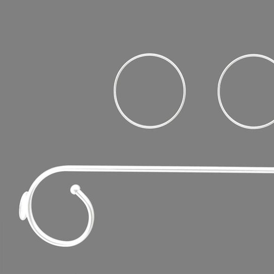 Himmelbettgarnitur Antonia, Good Life 1, L/B: 80/25 cm weiß Himmelbetten Zubehör Betten Himmelbettgarnituren