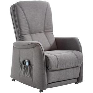 Himolla Fernsehsessel Grau , Textil , 83x114x93 cm