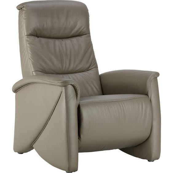 Himolla Komfortklass Relaxsessel Echtleder Relaxfunktion , Grau , Leder , 79x106x96 cm