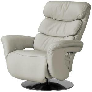 Relax-Sessel aus Leder creme - Leder Viktoria ¦ creme ¦ Maße (cm): B: 83 H: 107 T: 88 Polstermöbel  Sessel  Fernsehsessel » Höffner