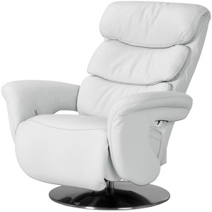 himolla Leder-Relaxsessel weiß - Leder 7228 ¦ weiß ¦ Maße (cm): B: 83 H: 107 T: 88