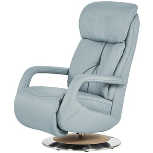 Relaxsessel blau - Leder Alea ¦ blau ¦ Maße (cm): B: 70 H: 111 T: 88 Polstermöbel  Sessel  Fernsehsessel » Höffner