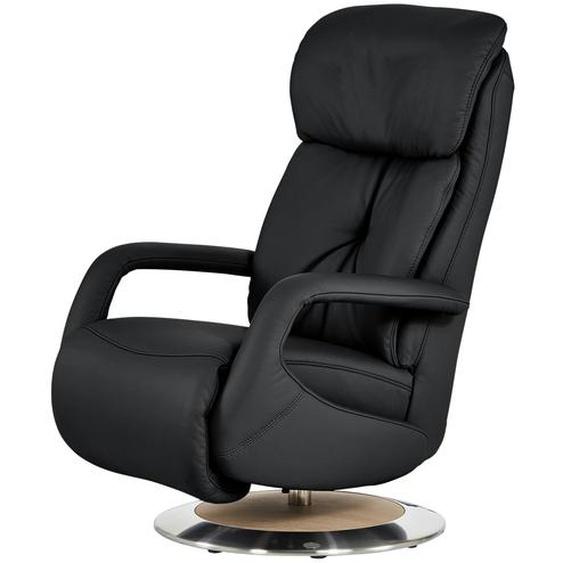 himolla Relaxsessel schwarz - Leder 7242 ¦ schwarz ¦ Maße (cm): B: 70 H: 111 T: 88