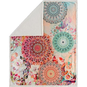 Hip Wohndecke »Nandini«, 130x160 cm, bunt, aus 100% Polyester