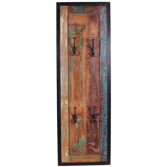 H�ngegarderobe aus Massivholz 110 cm hoch