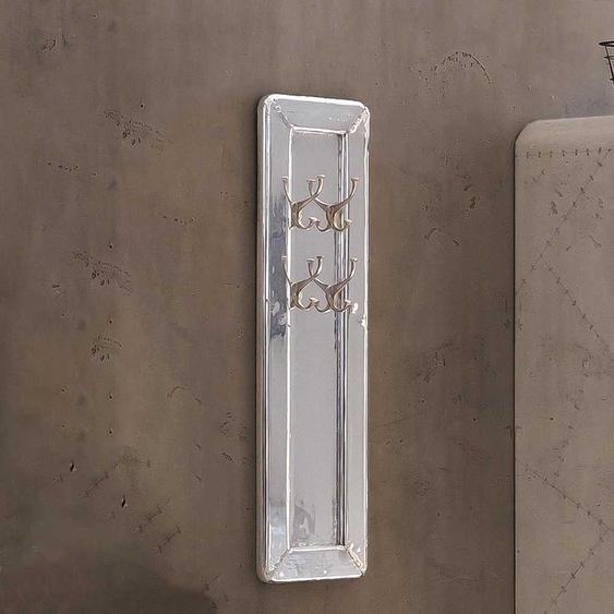 H�ngegarderobe im Industriedesign Aluminum beschlagen