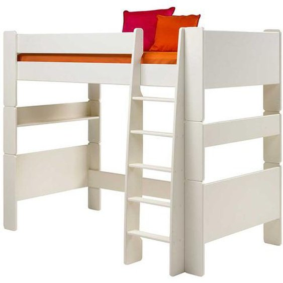 Hochbett für Kinderzimmer Weiß