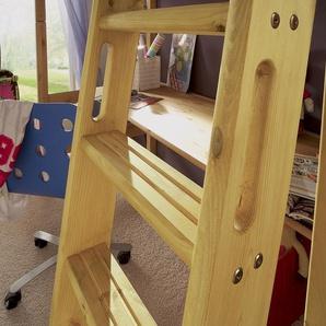 Hochbett Kids Paradise, Kiefer natur, 90x200 cm