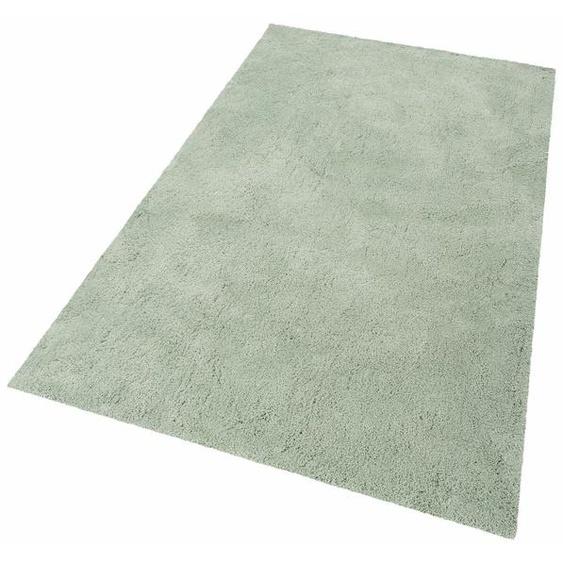 Hochflor-Läufer, Desner, my home, rechteckig, Höhe 38 mm, maschinell getuftet 11, 67x230 cm, mm grün Hochflor-Läufer Läufer Bettumrandungen Teppiche