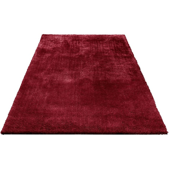 Hochflor-Teppich, Dana, Bruno Banani, rechteckig, Höhe 30 mm, maschinell gewebt 7, 240x320 cm, mm rot Moderne Teppiche Unisex