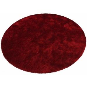 Hochflor-Teppich »Dana«, Bruno Banani, rund, Höhe 30 mm, besonders weich durch Microfaser, Wohnzimmer