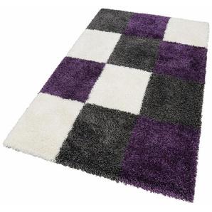 Hochflor-Teppich »Denton«, merinos, rechteckig, Höhe 50 mm