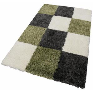 Hochflor-Teppich »Denton«, merinos, rechteckig, Höhe 50 mm, Wohnzimmer