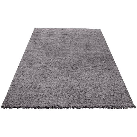 Hochflor-Teppich »Desner«, my home, rechteckig, Höhe 38 mm, Besonders weich durch Microfaser, Wohnzimmer