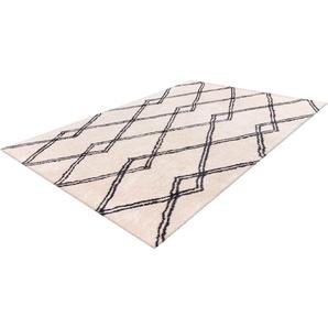 Hochflor-Teppich, Elvar-1000, calo-deluxe, rechteckig, Höhe 27 mm, maschinell gewebt