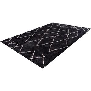Hochflor-Teppich, Elvar-4000, calo-deluxe, rechteckig, Höhe 27 mm, maschinell gewebt